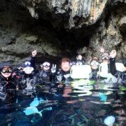 カラカラ先生ダイビング ミニグロット 池浮上 誕生日