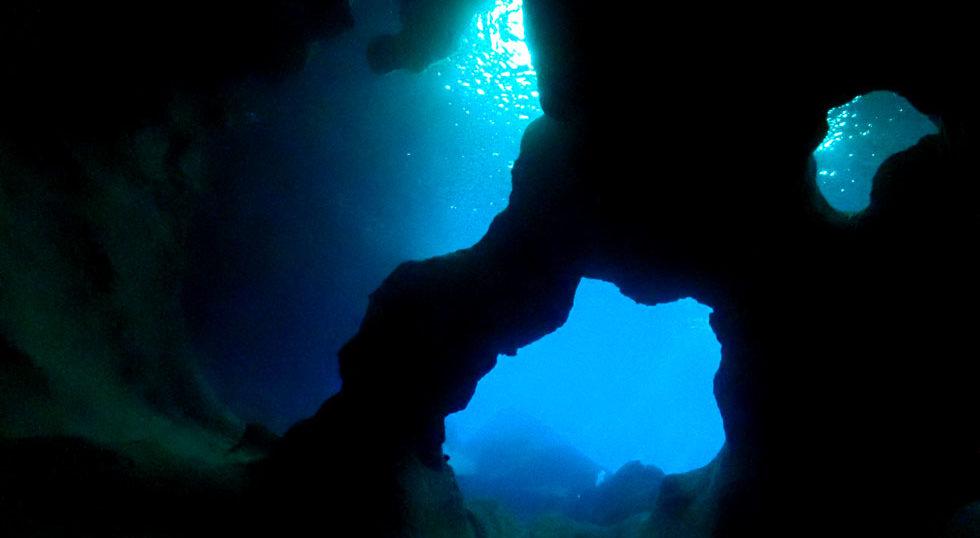 カラカラ先生ダイビング 南海岸 七又アーチ
