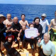 カラカラ先生ダイビング HAPPYBIRTHDAY
