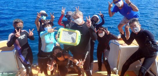 カラカラ先生ダイビング 記念ダイブ