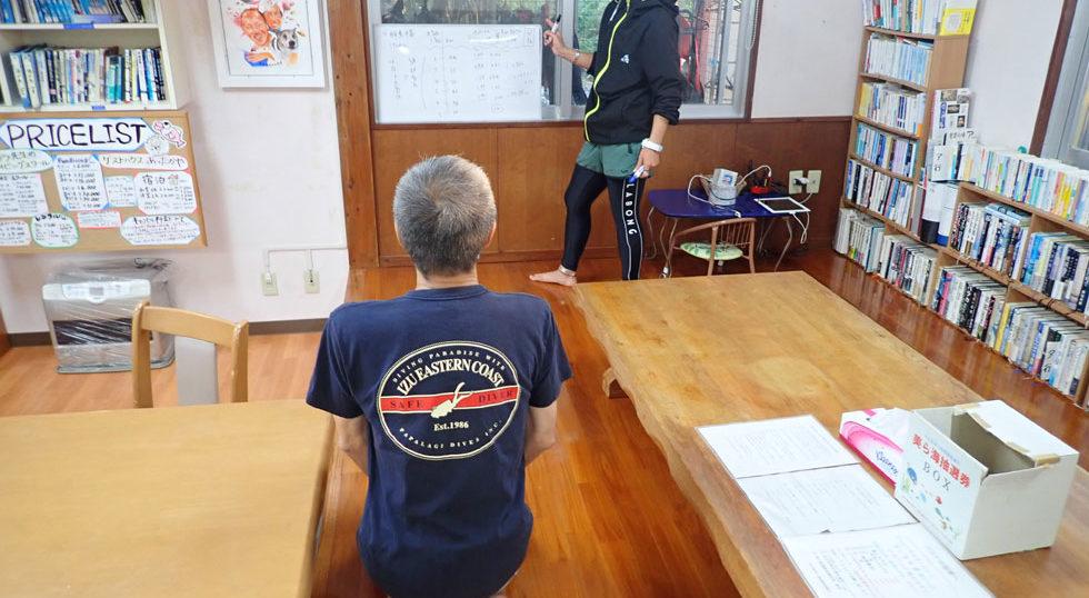 カラカラ先生ダイビング エンリッチ講習 風景
