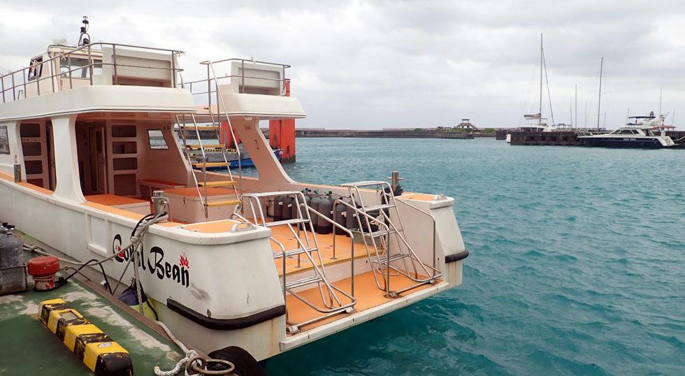 カラカラ先生ダイビング 港