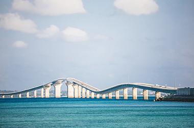 宮古島からの伊良部大橋
