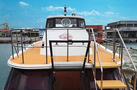 ボートのコーラルビーン号